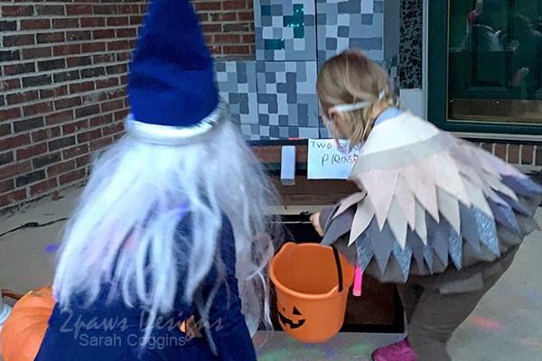 Merlin & Archimedes the Owl - Halloween 2018