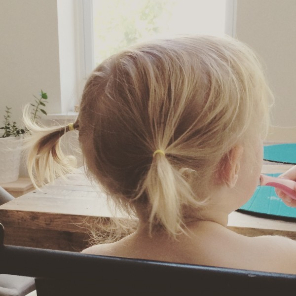 5 Steps to the Perfect Toddler Pigtails