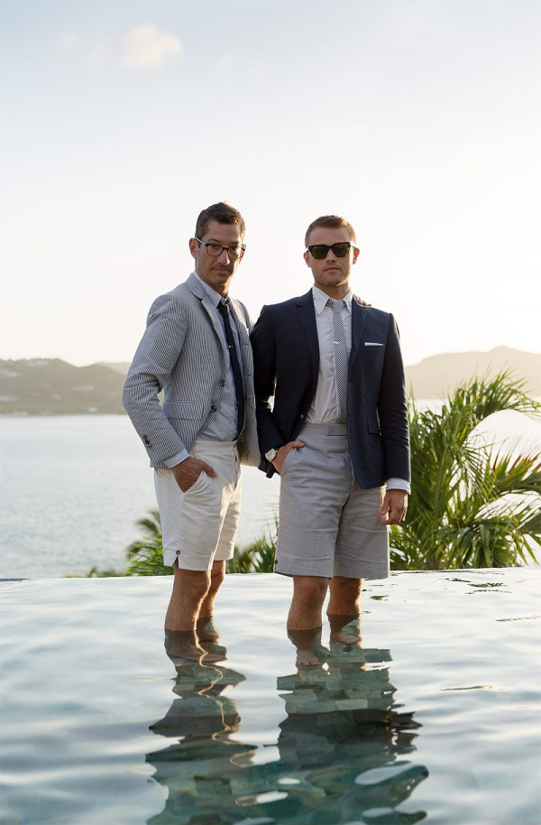 Harris Levinson & Ryan Hahn in St. Barths for their wedding photos - Gay & Same Sex Wedding Photography by Talun Zeitoun