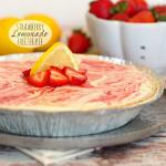 NO BAKE Strawberry Lemonade Freezer Pie, My favorite! - The Cookie Rookie