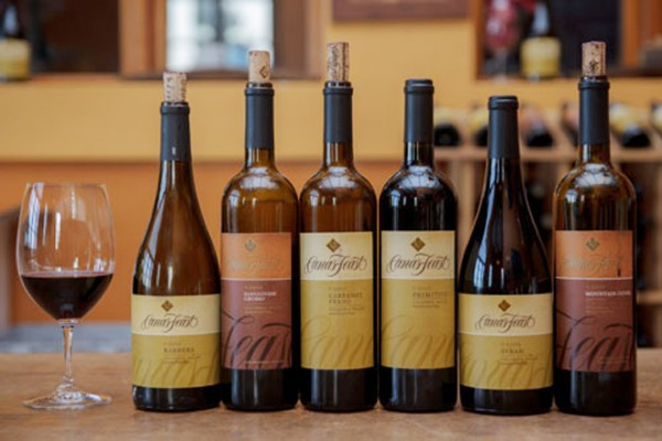 Canas Feast Selection of Wines