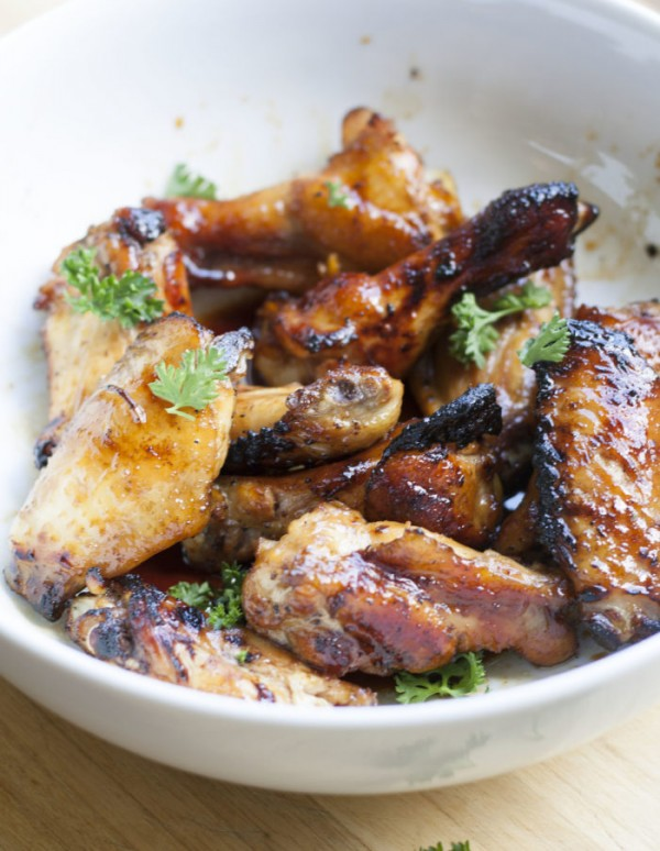 how to cook honey soy chicken wings