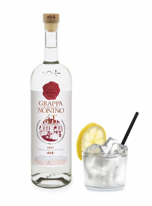 Grappa Nonino Tradizione with Tonic - Photo: Nonino