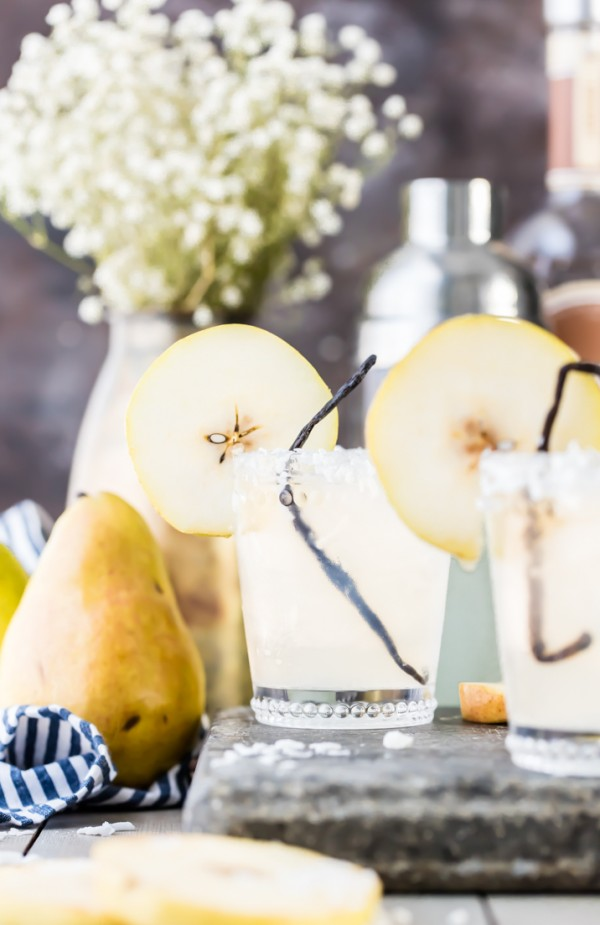 Pear vanilla coconut cooler by becky hardin epicurious community table - Delicious quince recipes autumns flavors on your table ...