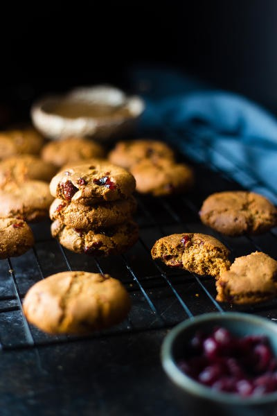 Paleo Cranberry Almond Cookies Picture