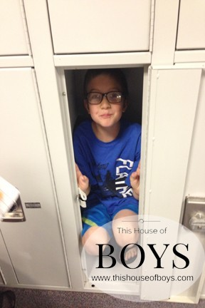 This House of Boys/In my brother's locker