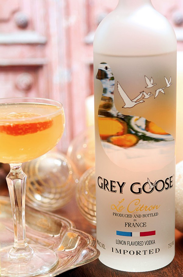 Grey Goose Fruits De F Te Champagne Cocktail By Barb