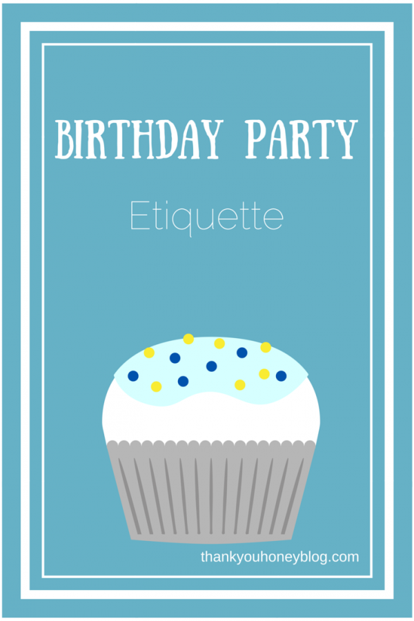 Birthday party etiquette today birthday party etiquette for both the party hosts the party guest stopboris Image collections