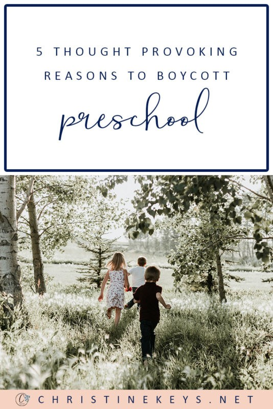 5 Thought Provoking Reasons To Boycott Preschool    Considering whether sending your child to preschool is necessary? Read these 5 points to find out the reasons why it may not be so. #parenting #homeschool #homeschooling #preschool #toddlers #motherhood #school #education