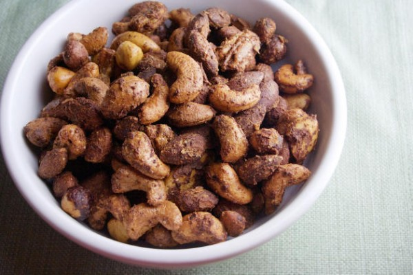 Spicy Roasted Nuts Photo