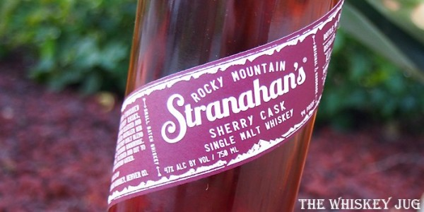 Stranahan's Sherry Cask Label