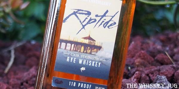 Riptide Rye Label