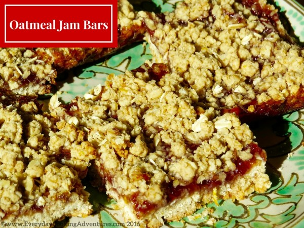 Oatmeal Strawberry Jam Bars ©EverydayCookingAdventures2016-3