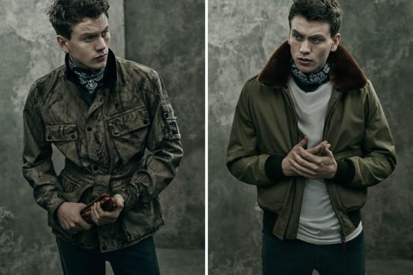 David Beckham's Belstaff 2015 Outerwear Collection