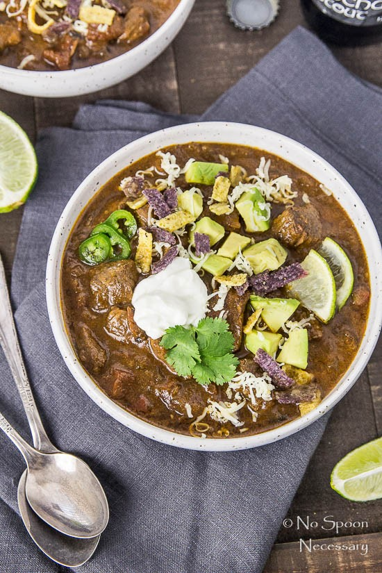Short Rib Chili with Chocolate Stout - Slow Cooker-76
