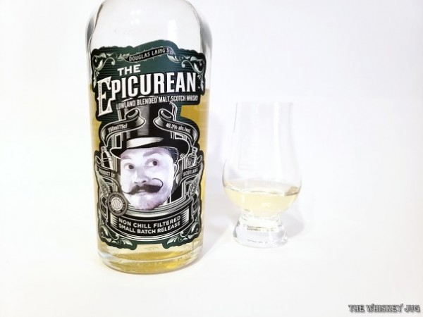 The Epicurean is a blended lowland malt whisky and it's not too bad.
