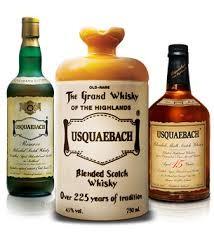 Usquaebach Bottles