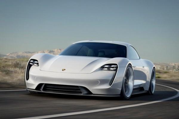 Porsche Mission E Concept 8
