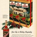 Christmas ad Old Fitzgerald bourbon