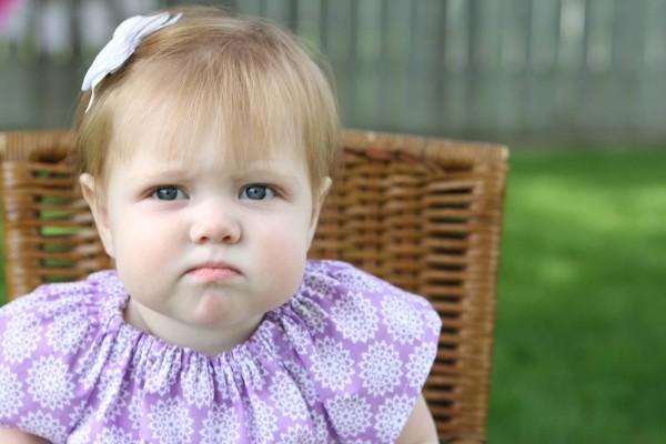 Grumpy Look