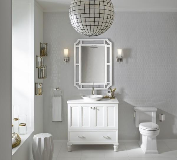 the white on white bathroom trend  ways to get inspired  kohler, Bathroom decor