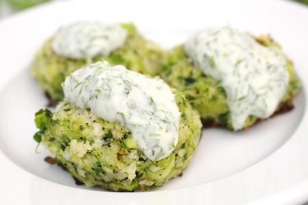 Broccoli Bites with Yogurt Dill Sauce | LocalSavour.com