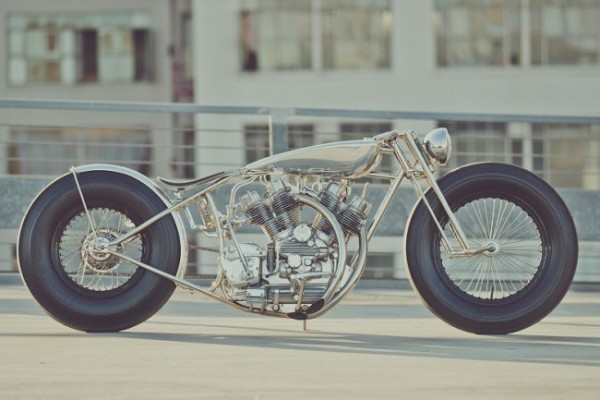 'The Musket' Motorcycle By Hazan Motorworks 1