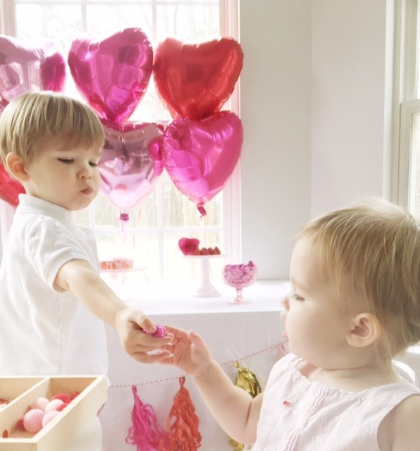 Kid S Valentine Party With Food Crafts And Learning Activities