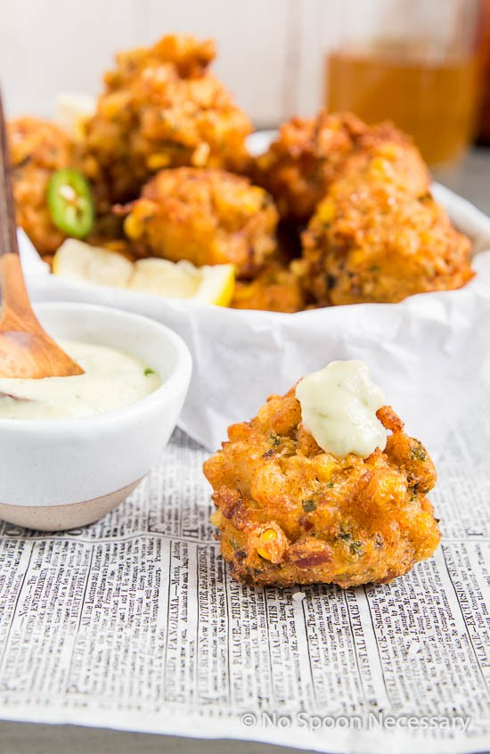 Lobster Corn Fritters-156
