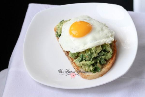 Smashed Avocado Egg Toast8