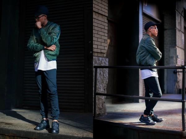 mens street style sneaker