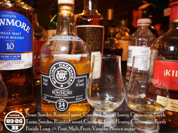 Bowmore 14 Cadenhead's Review