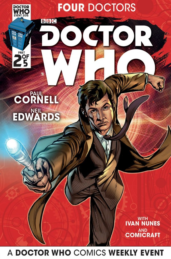 Doctor Who: Four Doctors #2 cover