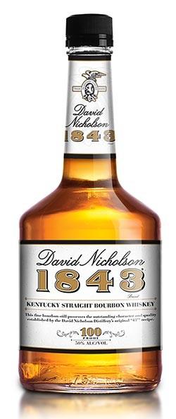 David Nicholson 1843 Bourbon Bottle Image