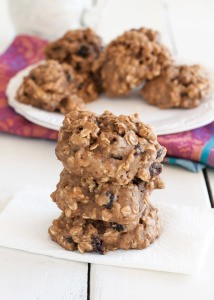 Oatmeal Breakfast Cookies- made with oats, banana and other goodies, these are healthy enough for a grab and go breakfast | Nutritious Eats
