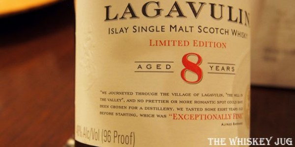 Lagavulin 8 Years Label
