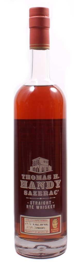 Thomas Handy Sazerac Rye Review Bottle