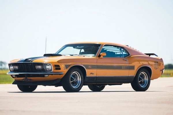 1970 Ford Mustang Mach 1 Twister 1