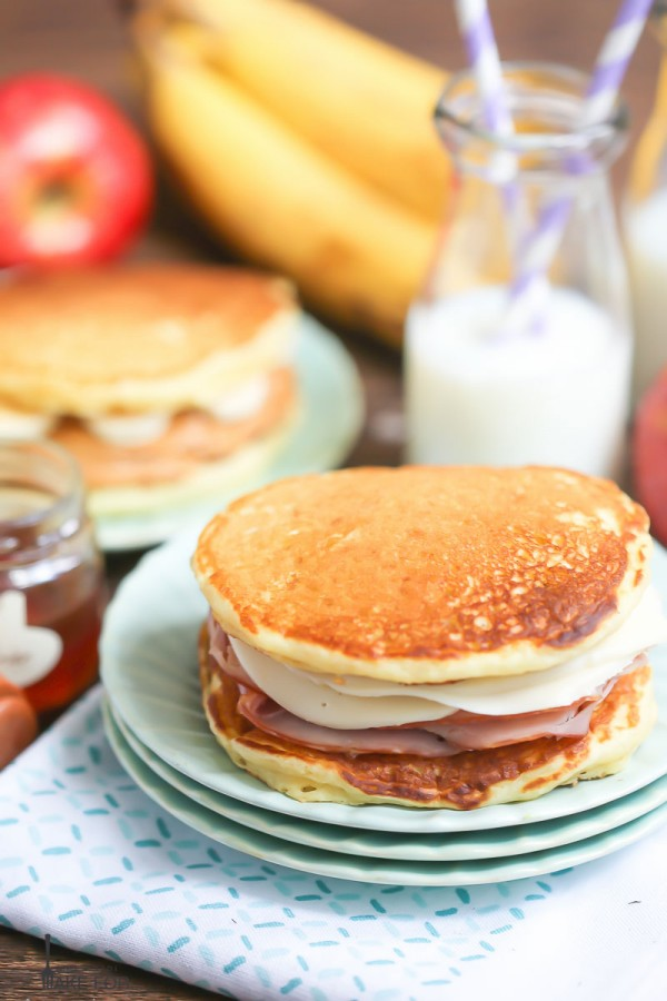 Lunchbox Pancake Sandwiches
