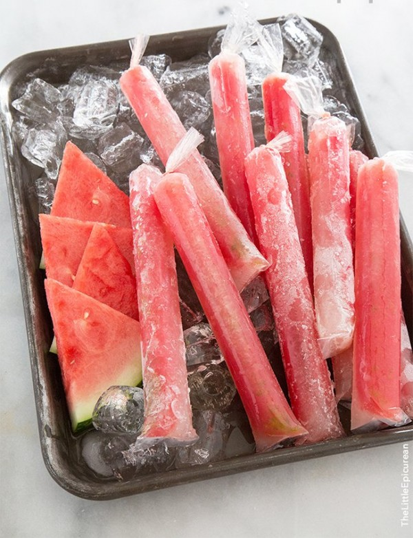 Watermelon Tequila Pops | The Little Epicurean
