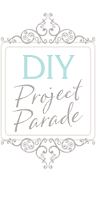 DIY project Parade linky party button