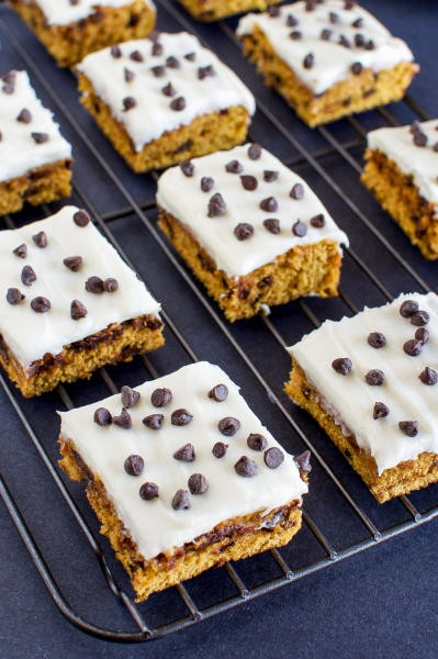 Pumpkin Bars with Cream Cheese Frosting Picture