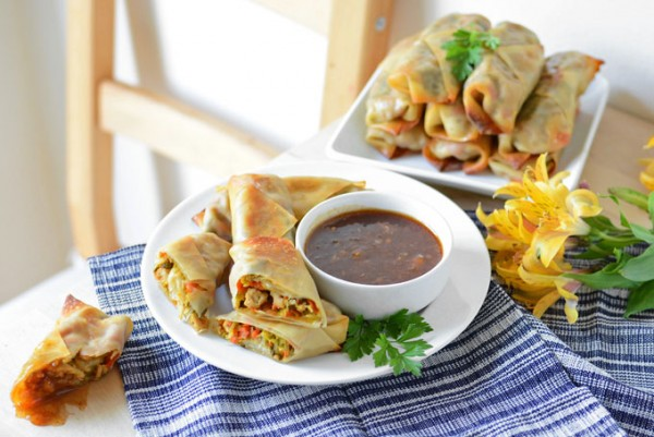 baked-pork-chinese-cabbage-egg-rolls