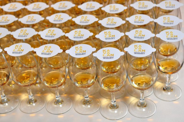 Kavalan Whisky ready for tasting - photo: Facebook / Kavalan Whisky