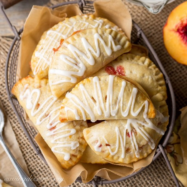 Peach Hand Pies   Saving Room For Dessert