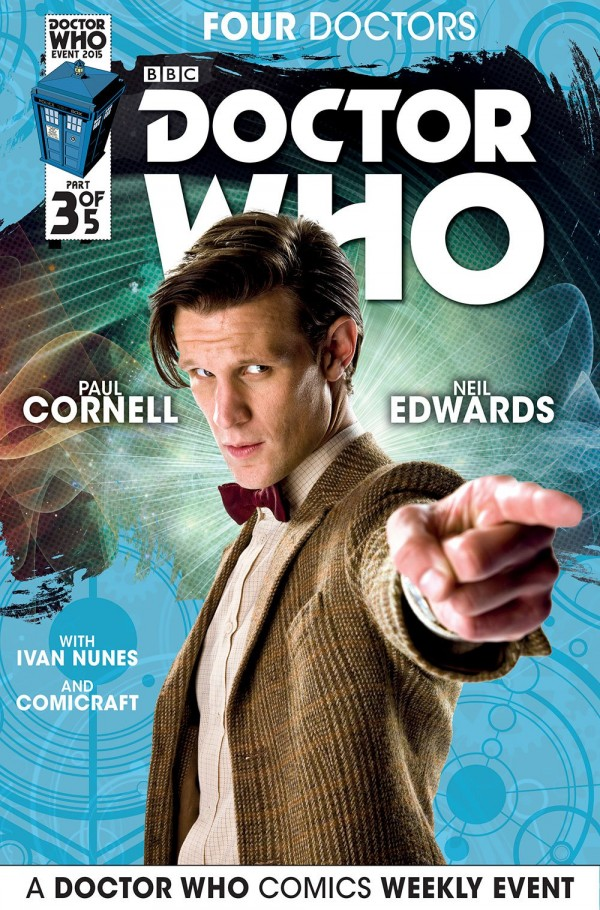 Doctor Who: Four Doctors #3 photo cover