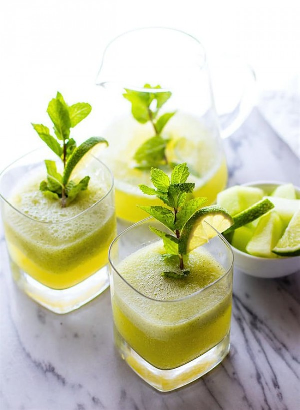 Mint Melon Limeade | Cotter Crunch