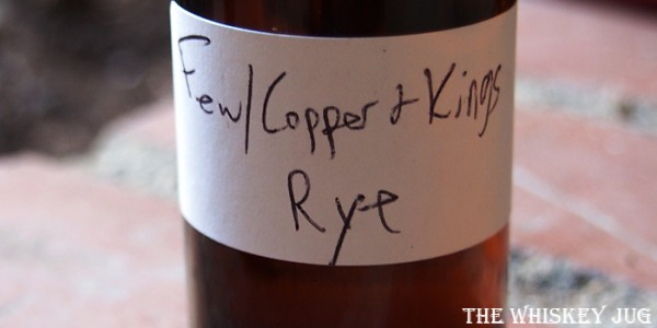FEW Copper and Kings Rye Label