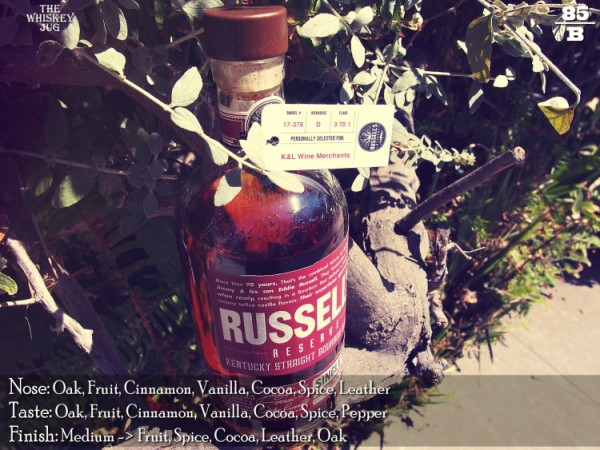 Russell's Reserve Single Barrel Bourbon 376 Review