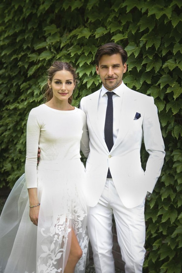 Olivia Palermo and Johannes Huebl Wedding